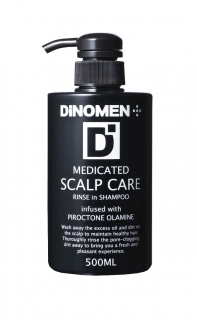 MEDICATED SCALP CARE RINSE IN SHAMPOO (薬用スカルプケアリンスインシャンプー)500ml